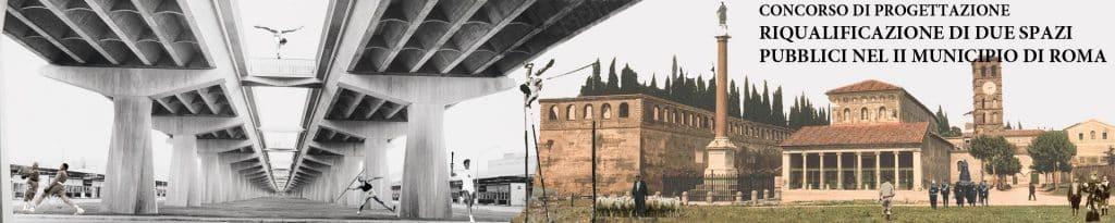 Concorso di progettazione per opere di pedonalizzazione e riqualificazione nel territorio del II Municipio di Roma 1
