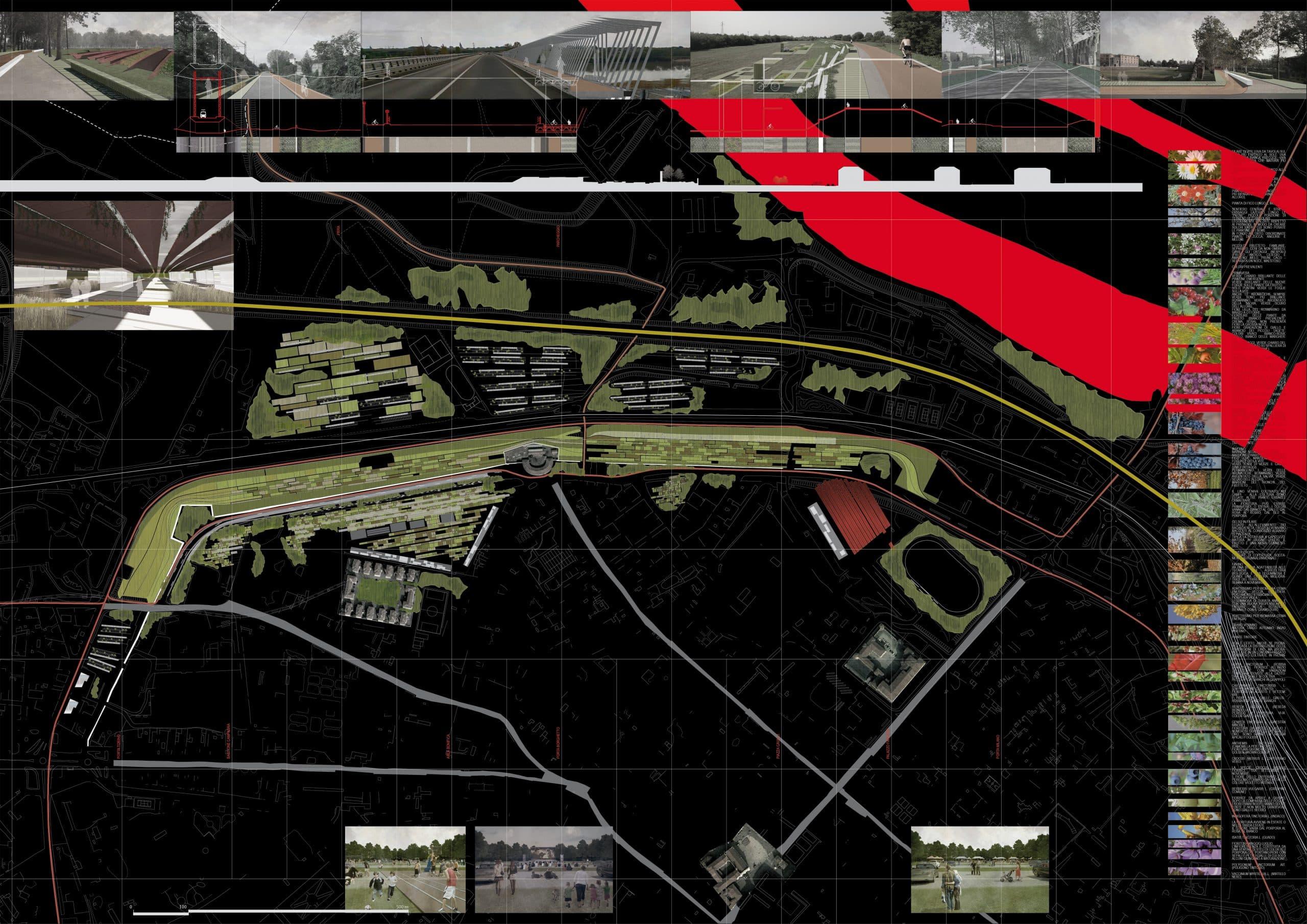 4 ANDRIANI PIACENZA Parco delle mura , usi del suolo 2013
