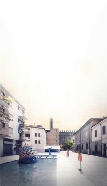 OC, Museo Fellini. San Martino a Rimini, prima soluzione 2018.