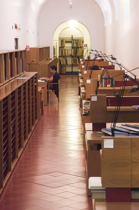 American Academy in Rome - Biblioteca LD