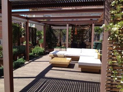 Casa privata - tetto verde - Roma LD