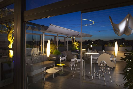 Hotel Monti Palace Roma - Roof garden LD