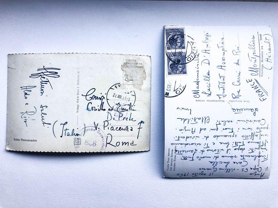 Luca Galofaro_Abitare i monumenti, Postcards, 2012_Retro