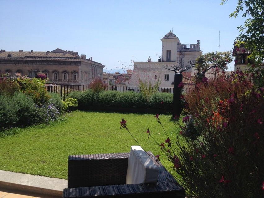 Tetto verde - abitazione privata Roma LD
