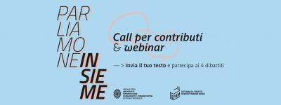 Al via Parliamone insieme: call e webinar per il dibattito sul futuro della professione. Venerdì 22/05 ore 18:00 – 3° appuntamento