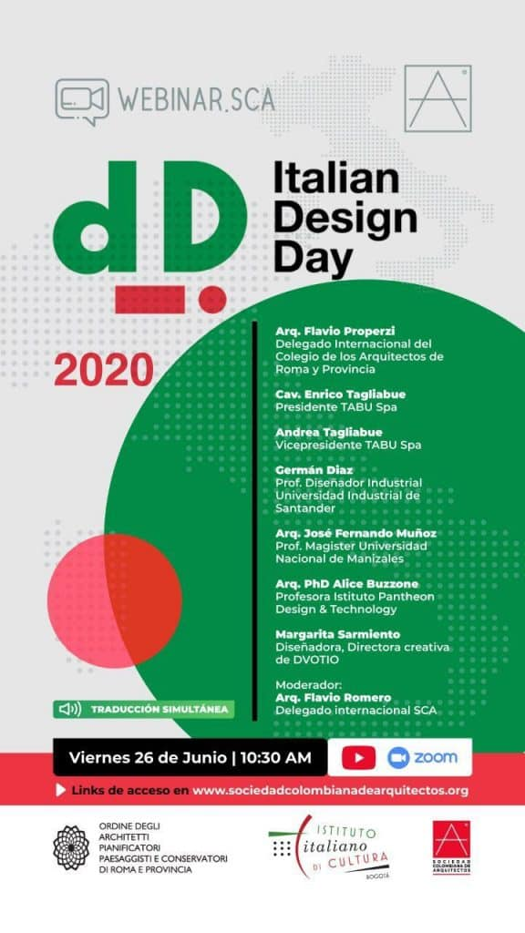 Giornata del Design Italiano – Italian Design Day 2020 1