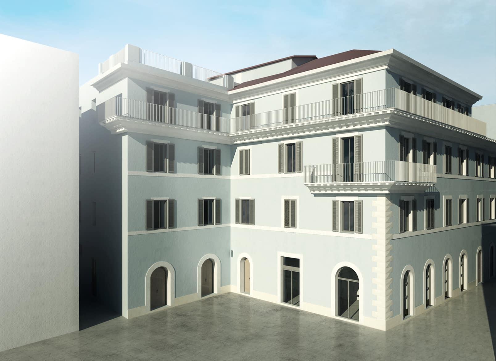 Sparch_Tivoli_Santa Croce - Progetto Ricostruzione