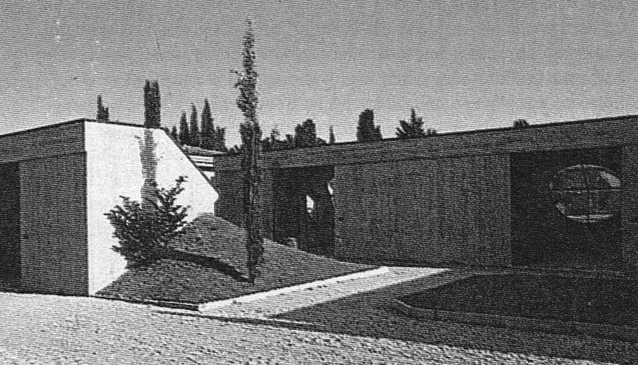 10 - Ampliamento del cimitero comunale di S. Angelo in Vado (PU) -  Vista esterna