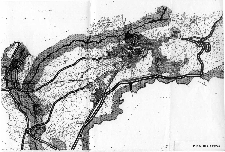 11 - PRG del Comune di Capena (RM) - Tavola di piano