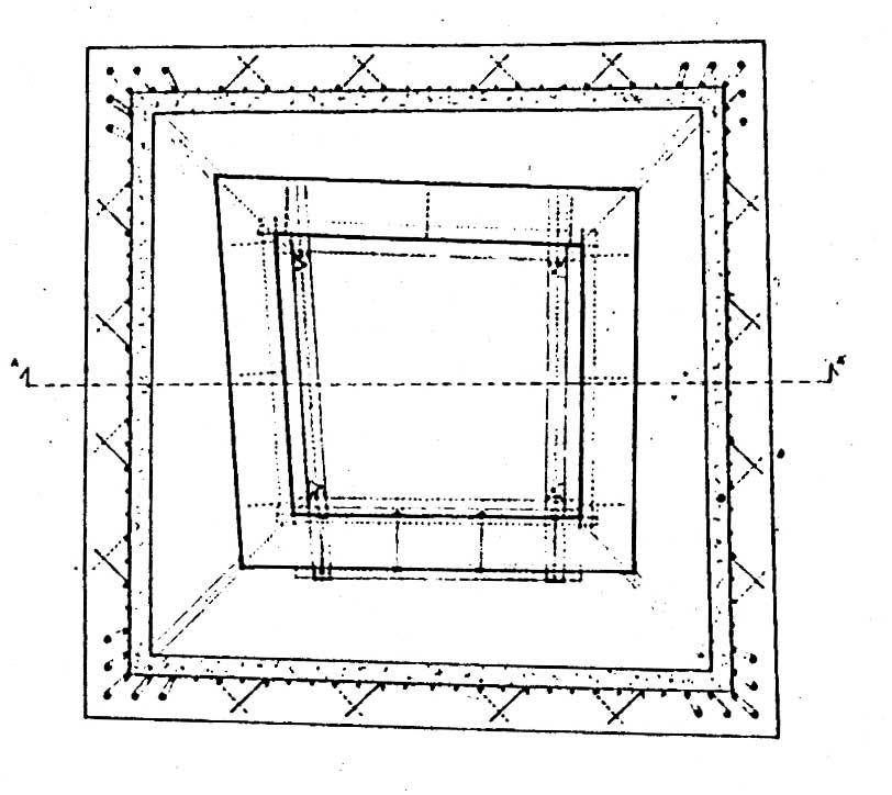 11 - Restauro della Torre rinascimentale con campanile romanico inglobato, Bassano in Teverina (VT) - Pianta