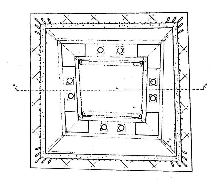 12 - Restauro della Torre rinascimentale con campanile romanico inglobato, Bassano in Teverina (VT) - Pianta