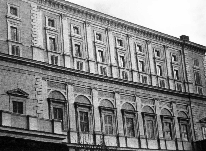 15 - Restauro di Palazzo Farnese e del parco, Caprarola (VT) - Vista esterna