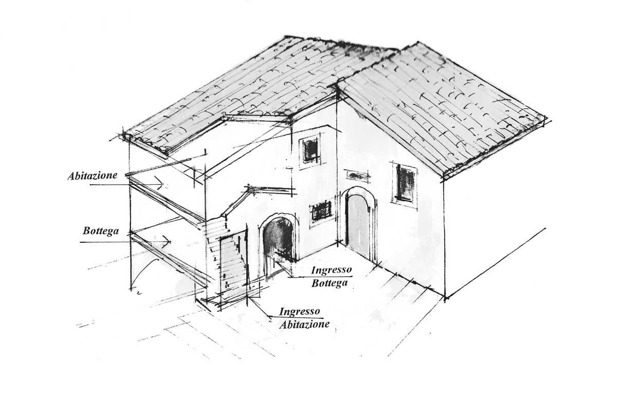 14 - PP del centro storico di Carpineto Romano (RM) - Analisi grafiche delle fasi costruttive