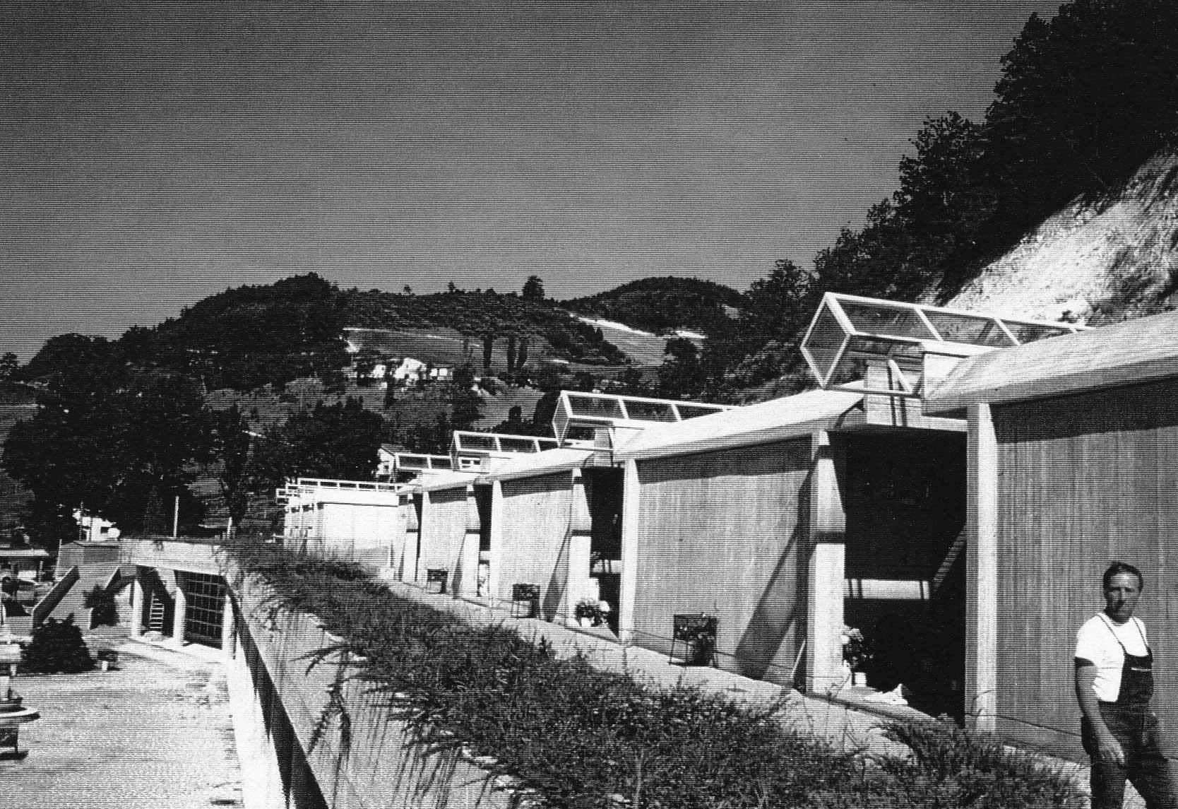 15 - Ampliamento del cimitero comunale di Fermignano (PU) - Vista esterna