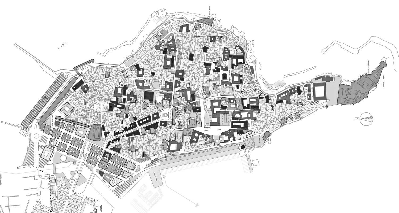 15 - PP di Siracusa - Ortigia; coordinamento del gruppo di lavoro - Tavola di piano