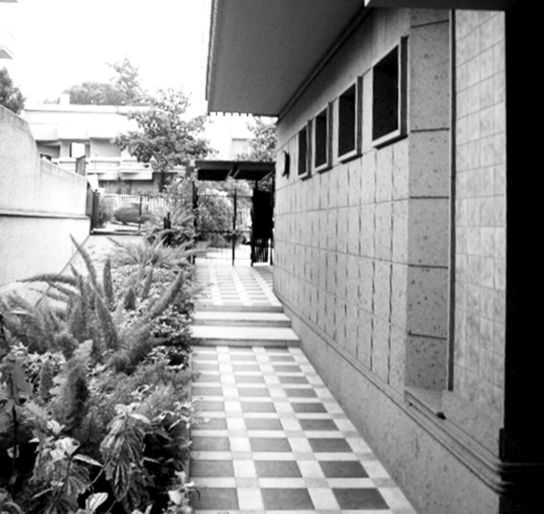 14 - Palazzina residenziale in via Luigi Arbib Pascucci, Roma - Vista esterna di dettaglio