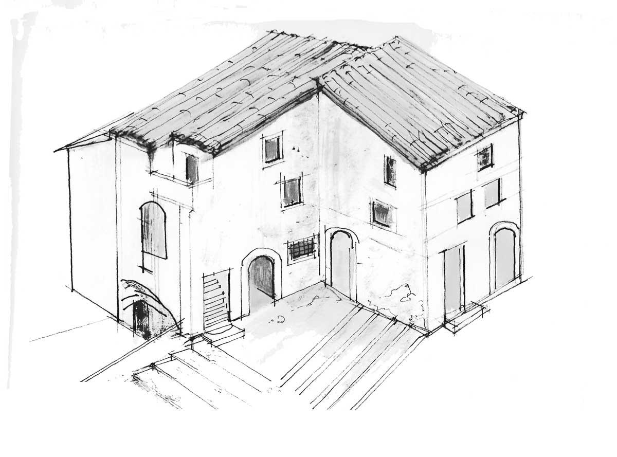 16 - PP del centro storico di Carpineto Romano (RM) - Analisi grafiche delle fasi costruttive