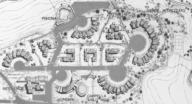 14 - Insediamento residenziale a Monteroduni (IS) - Planimetria generale