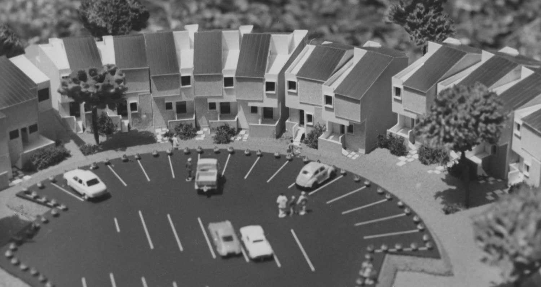 13 - Insediamento residenziale a Monteroduni (IS) - Vista del plastico