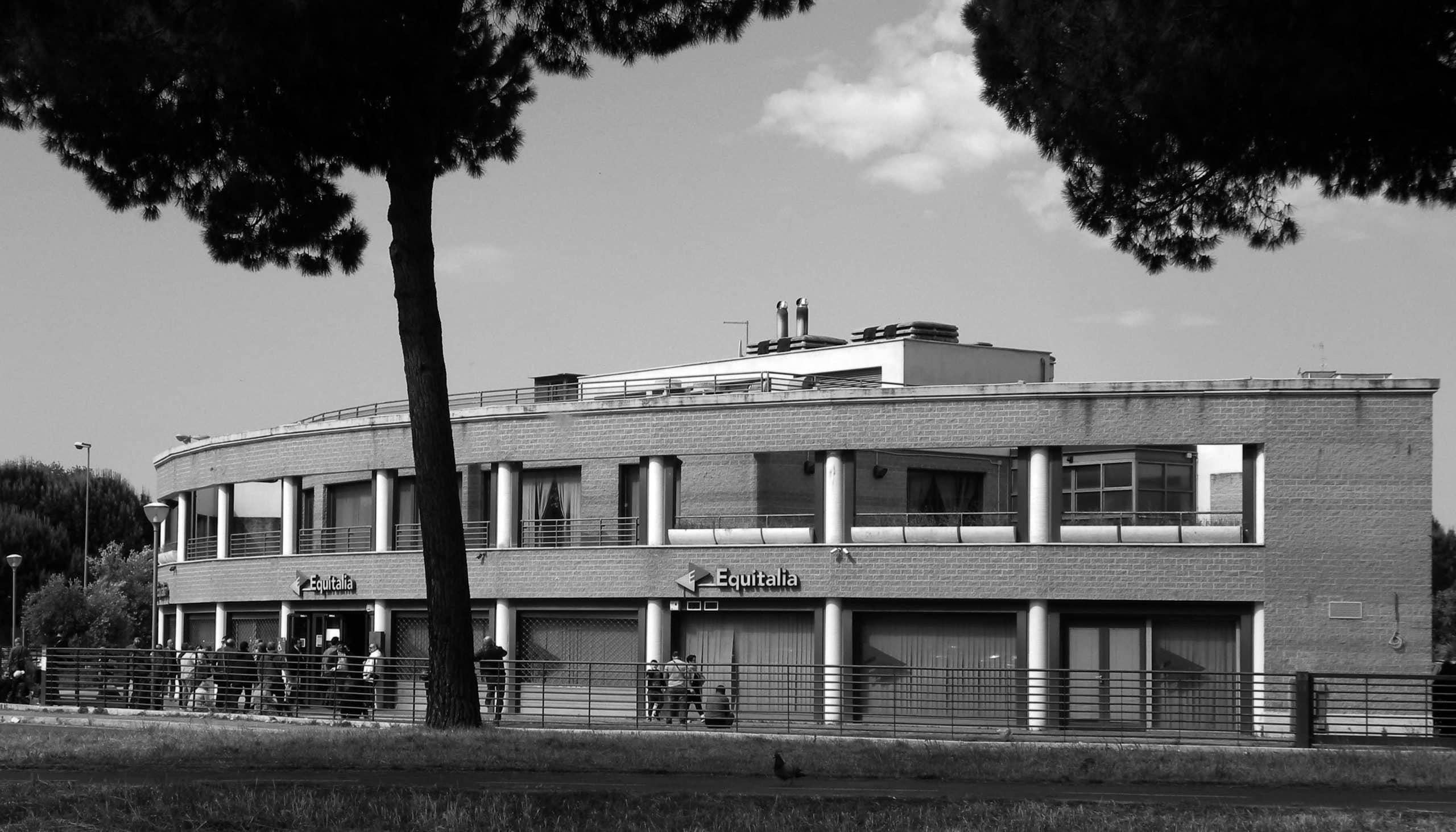 20 - Edificio per negozi ed uffici nel PdZ Tiburtino Sud in via Palmiro Togliatti, Roma - Vista esterna
