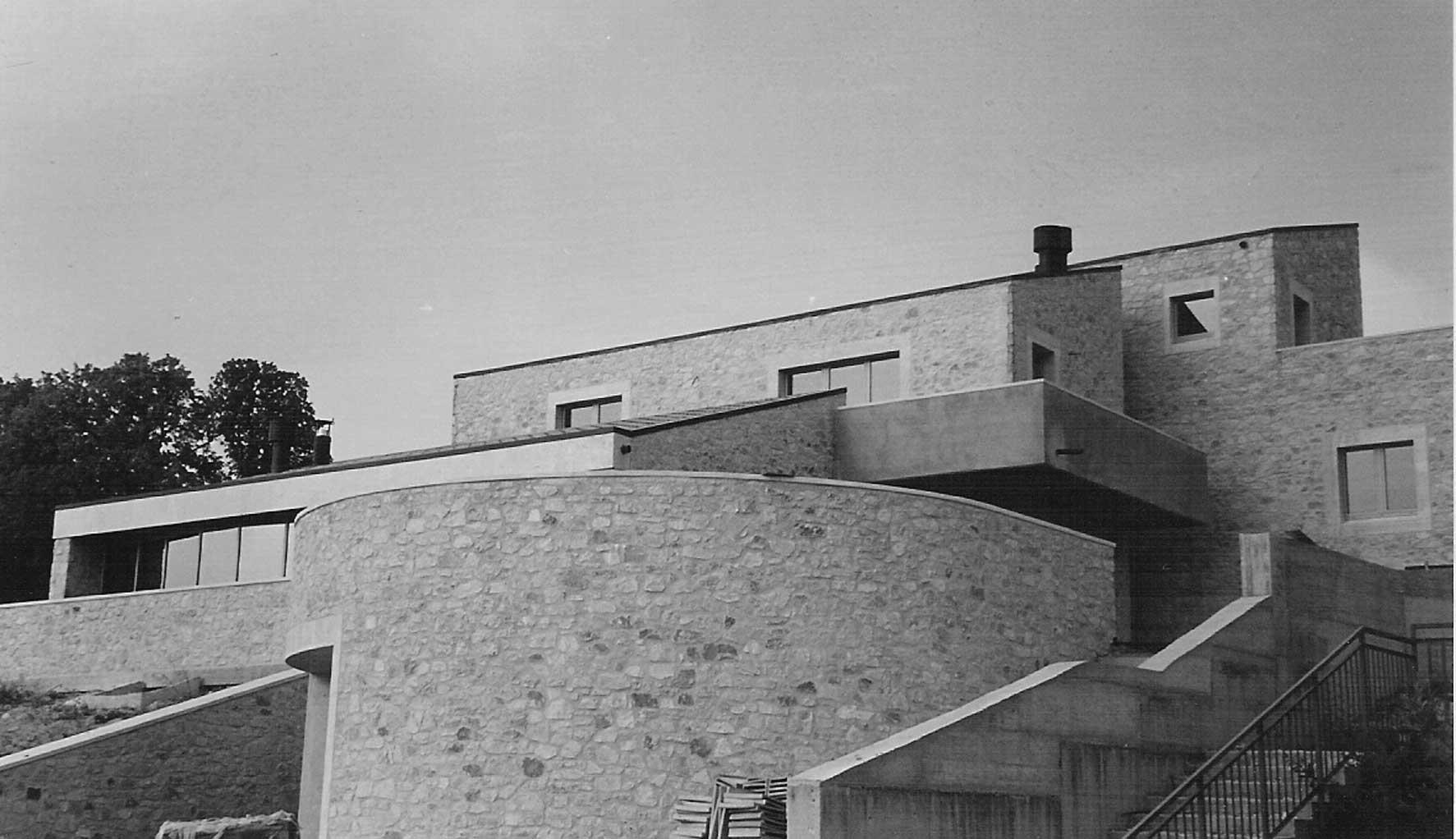 18 - Casa Settimi sul colle di San Tommaso, Spoleto (PG) - Vista esterna