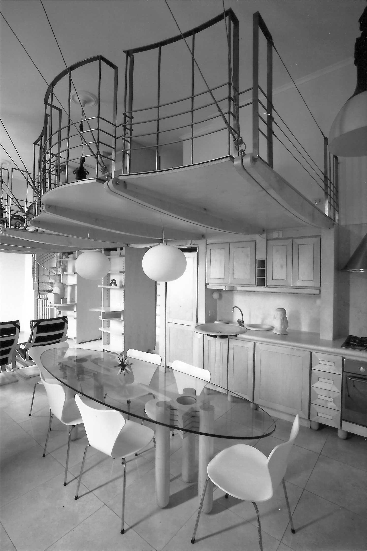 24 - Ristrutturazione e arredamento di casa De Luca, Roma - Vista interna