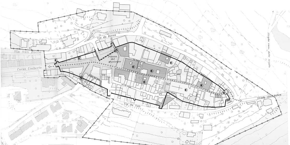23 - PP del centro storico di Montepagano, Roseto degli Abruzzi (TE) - Evoluzione dell'insediamento