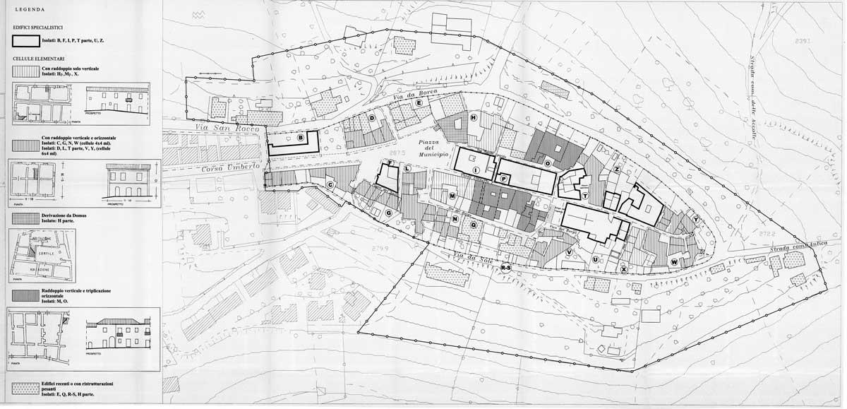 24 - PP del centro storico di Montepagano, Roseto degli Abruzzi (TE) - Evoluzione dell'insediamento