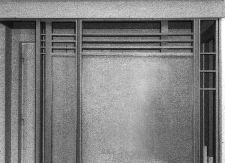 25 - Ristrutturazione e arredo di casa Bucchieri a Roma; con E. Monti - Vista interna di dettaglio