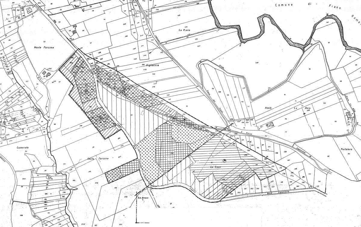 26 - PP in variante al PRG della zona sportiva e zone limitrofe con applicazione dei Programmi Integrati di intervento ex L.R. 22/1997 in loc. S. Marco, Capena (RM) - Zonizzazione
