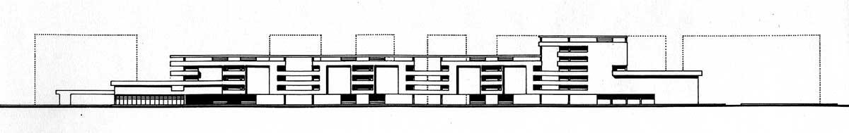 29 - PdR art. 11 a Roma - San Basilio, bando Comune di Roma; in collaborazione - Prospetto