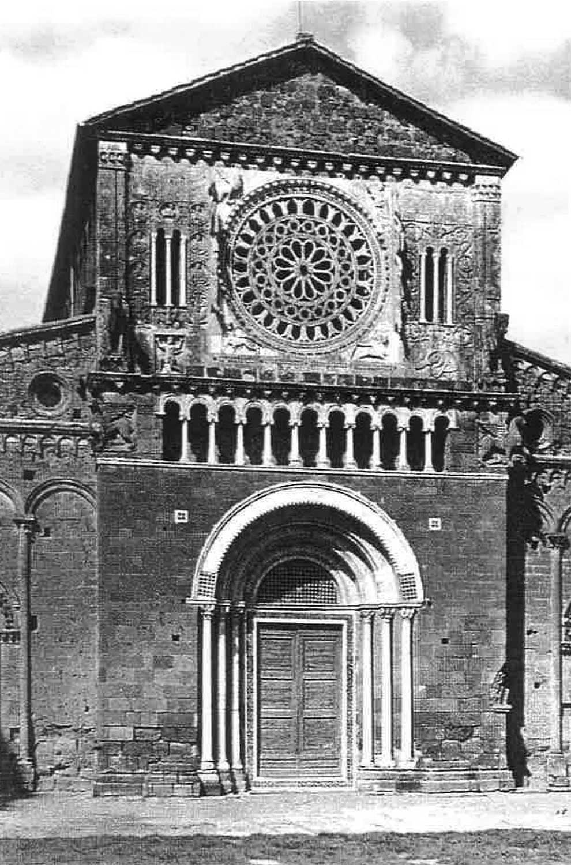 2 - Restauro della Chiesa di S. Pietro, Tuscania (VT) - Vista esterna