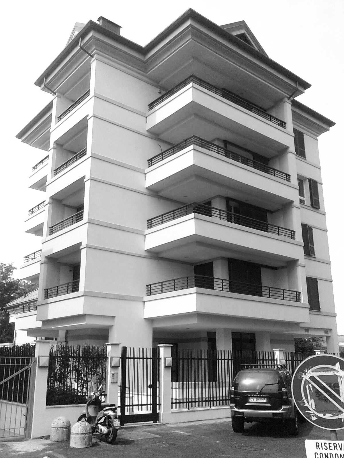 30 - Complesso residenziale in via Stilicone, Milano, per Giardini della Simonetta Srl - Vista esterna