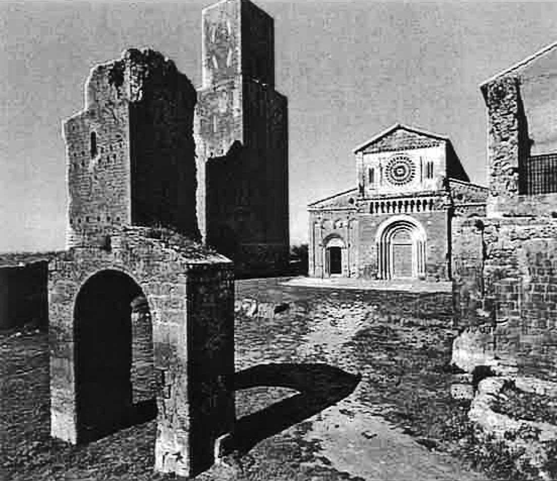 3 - Restauro della Chiesa di S. Pietro, Tuscania (VT) - Vista esterna