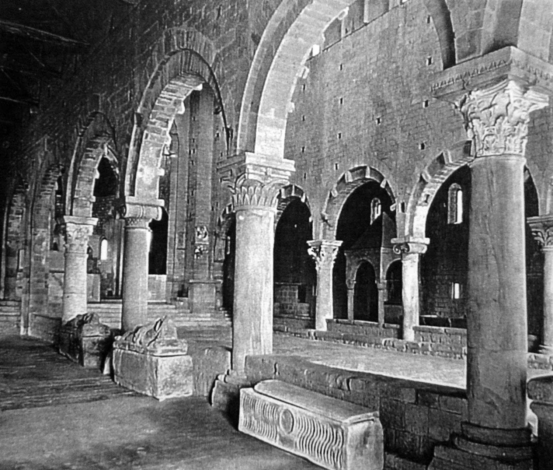4 - Restauro della Chiesa di S. Pietro, Tuscania (VT) - Vista interna