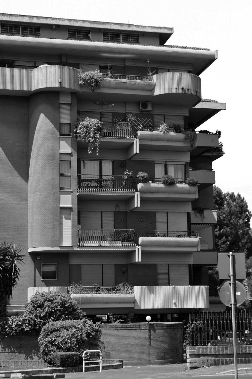 5 - Complesso residenziale in via della Pineta Sacchetti, Roma - Vista esterna