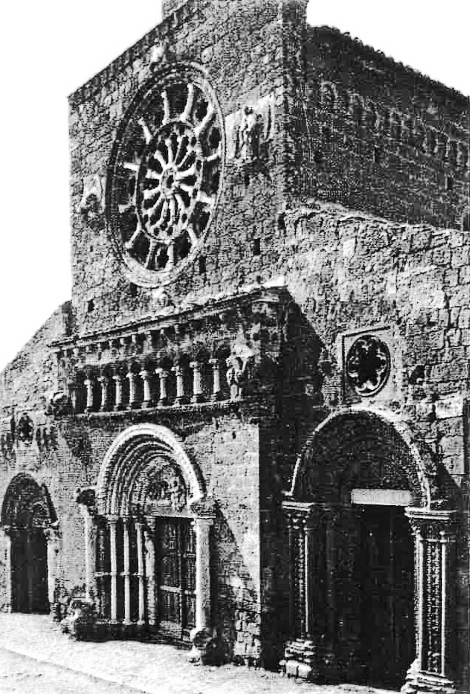 5 - Restauro della Chiesa di S. Maria Maggiore, Tuscania (VT) - Vista esterna