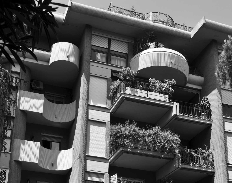 4 - Complesso residenziale in via della Pineta Sacchetti, Roma - Vista esterna