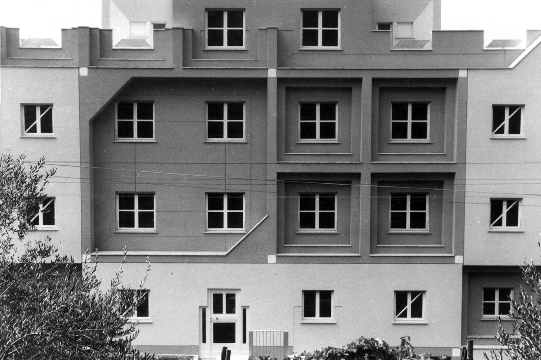 5 - Edificio di civile abitazione in via Roma, Cori (LT); con F. Montuori e F. Pierluisi (GRAU) - Vista esterna
