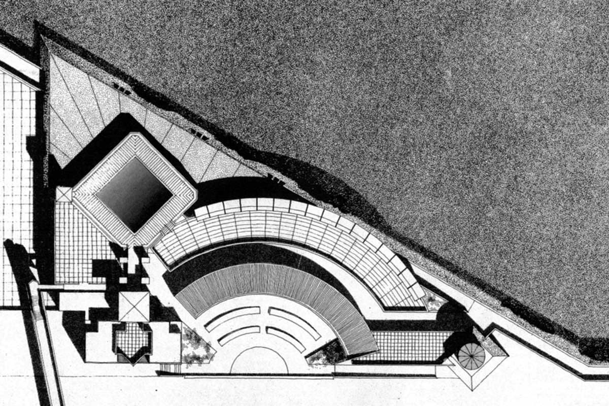 6 - Progetto del nuovo porto turistico di Anzio (RM); con M. Ranzi e Tecnoarch Srl - PlanIvolumetrico