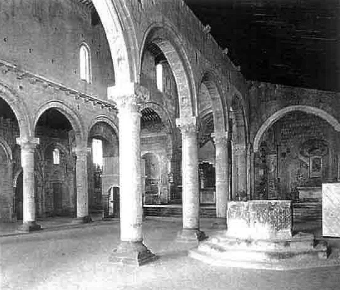 7 - Restauro della Chiesa di S. Maria Maggiore, Tuscania (VT) - Vista interna