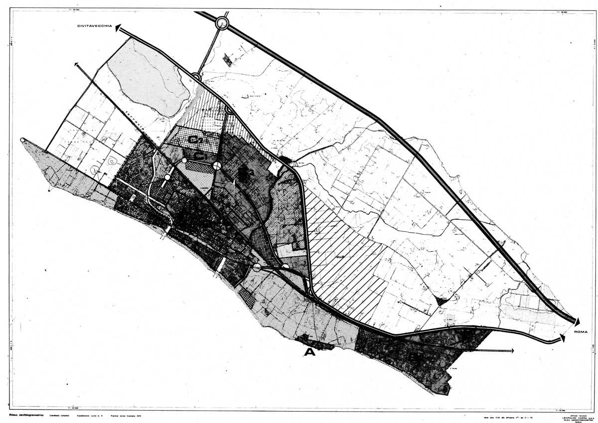 7 - PRG e successiva variante del Comune di Ladispoli (RM); con A. Quarra - Zone omogenee