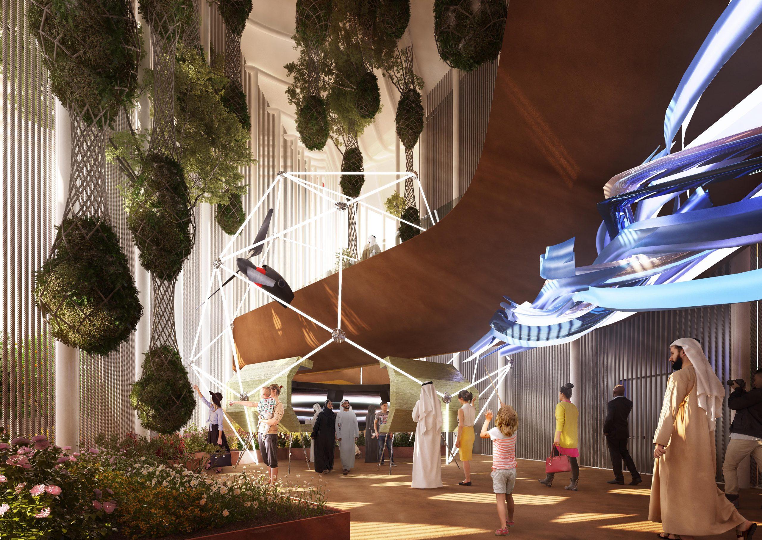201910 Unveiling Italian Pavilion 2020_Renderings by CRA_5