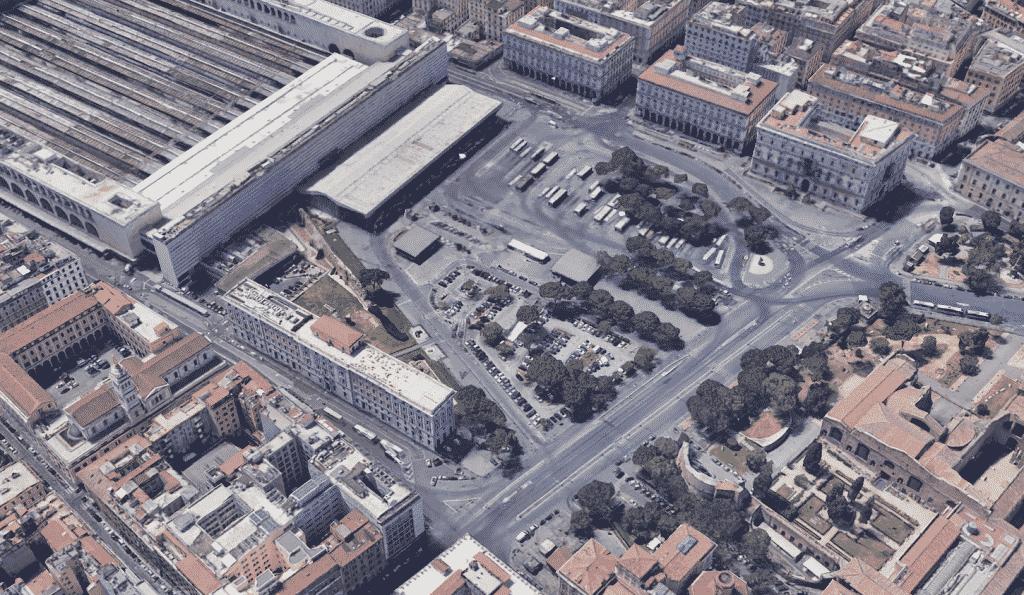 Riqualificazione Piazza deiCinquecento, conclusa prima fase del concorso 7