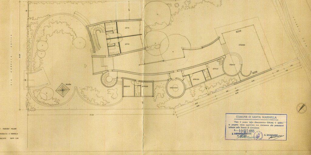 """Appunti sul restauro della villa """"La Saracena"""" di Luigi Moretti – di Paolo Verdeschi 1"""