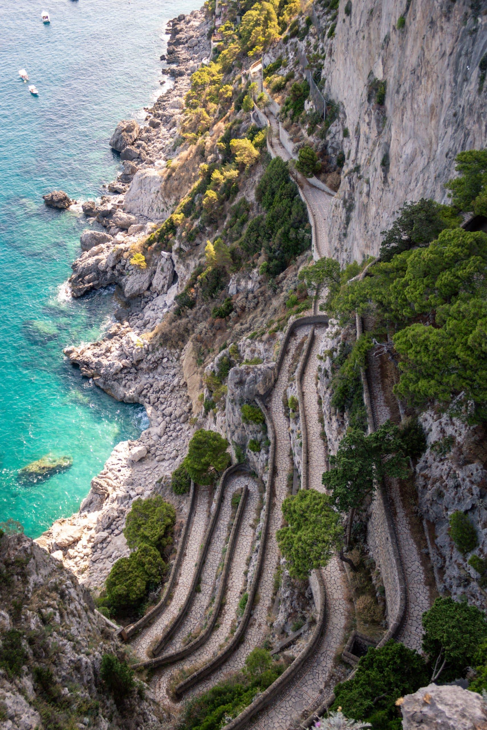 via Krupp, the beautiful Capri island