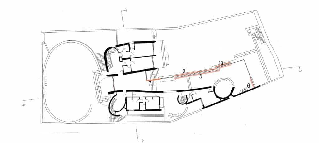 """Appunti sul restauro della villa """"La Saracena"""" di Luigi Moretti – di Paolo Verdeschi 10"""