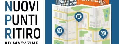 AR Magazine. Nuovi punti di ritiro per gli iscritti: la rivista approda negli showroom aziendali