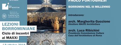 Lezioni Borrominiane – Paolo Portoghesi Borromini nel III millennio